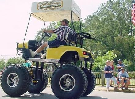 ultimate golf cart