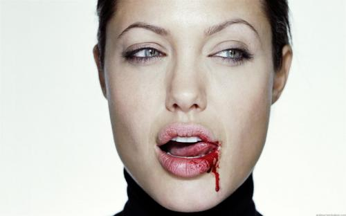 bloody-lip