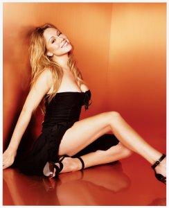 Mariah Carey - Black Mini Dress