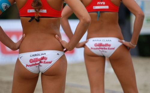 volleyball ass