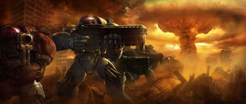 starcraft marines - atomic nightmare