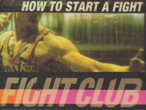 Fight Club - How To Start A Fight