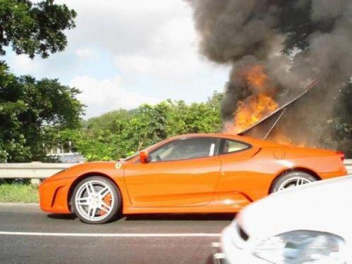 Hot Race Car