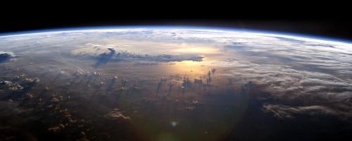 Sunshine Reflections On Earth