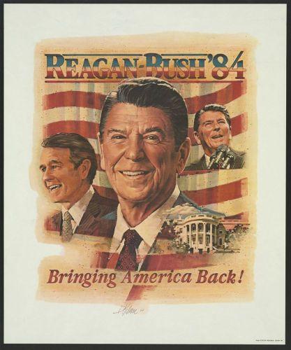 Reagan - Bush 84 - Bringing America Back