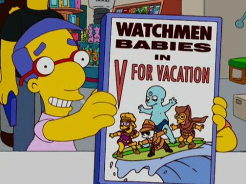 Watchmen Babies - V for Vacation
