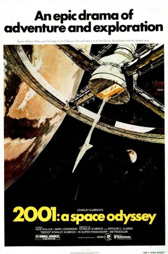 2001 - A Space Odyssey Movie Poster