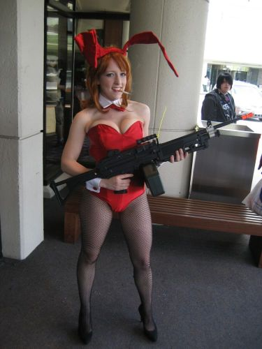 Sexy Red Bunny