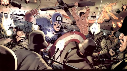 Captain American and Namor And The Human Torch