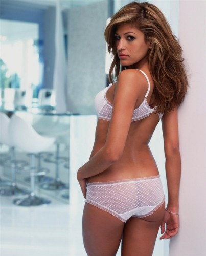 Eva Mendes - See Through Panties