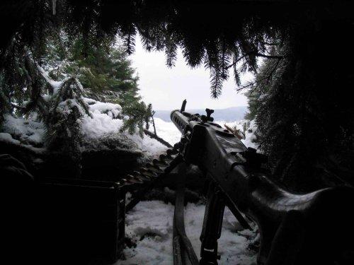 machine gun nest