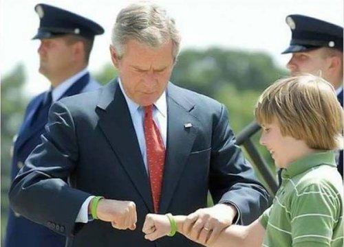 Presidential Fist Bump
