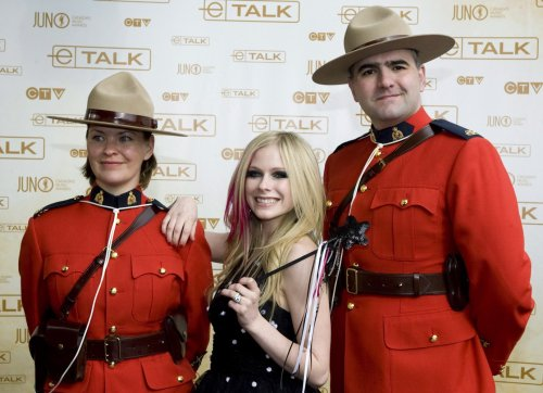 Avril Lavigne Has Mountie Friends