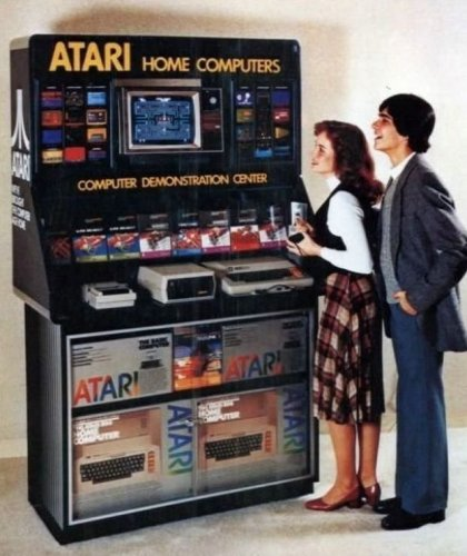 Atari Home Computer Demonstration Center