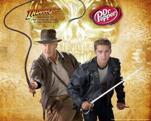 Indiana Jones Dr Peper Wallpaper