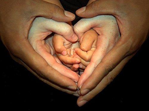 Heart Shapped Hands