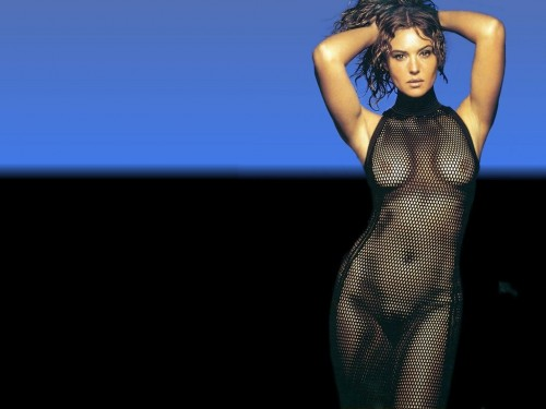 nsfw - monica bellucci - fish nets