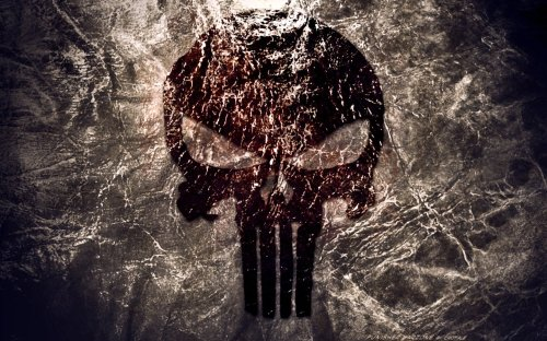 Punisher Logo - Widescreen