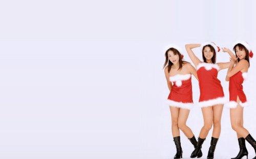 Sexy Xmas asians