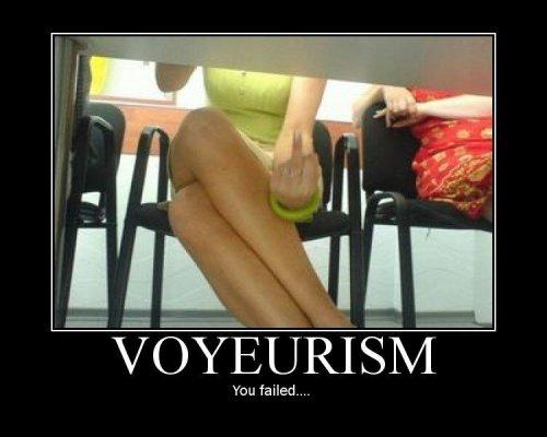 voyeurism - you failed