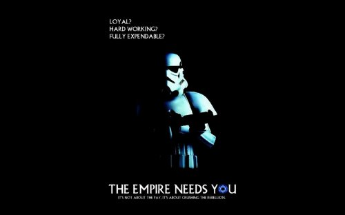 The Empire Needs You