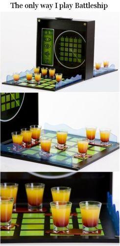 Alcohol Battleship