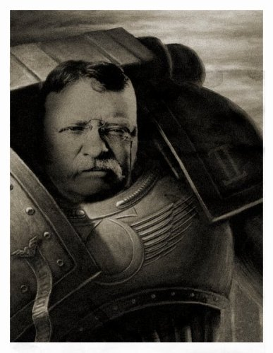 Teddy The Space marine
