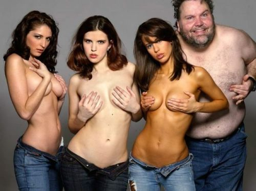 topless hotties