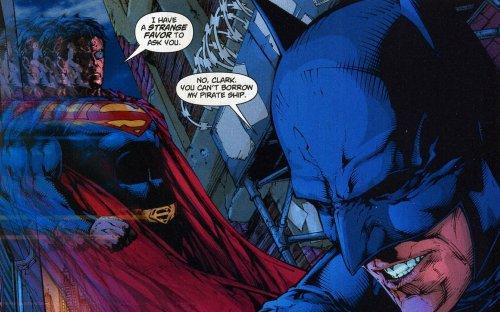 Superman wants batmans pirate ship