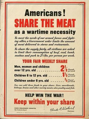 americans - share the meat