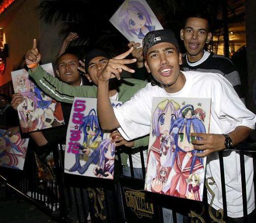 blacks love anime