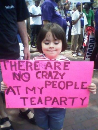 there are no crazy people at my teaparty