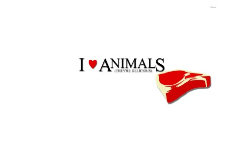 I love animals - they are delicious