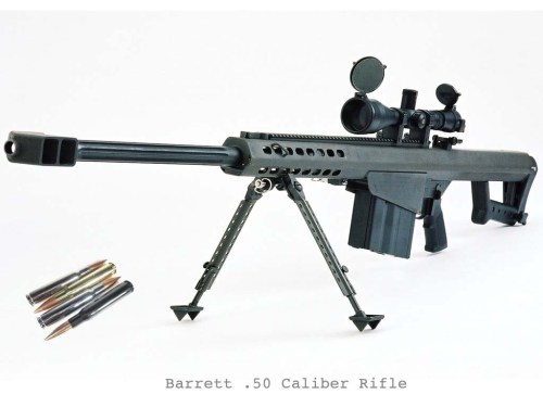 barrett 50 caliber rifle