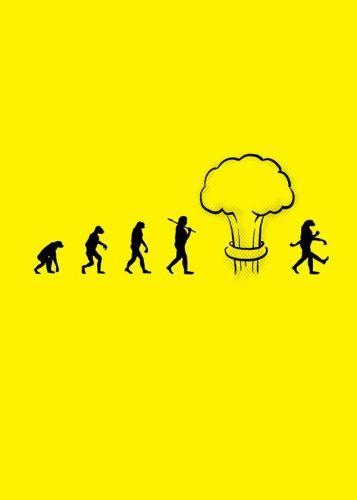 evolution of the atomic man