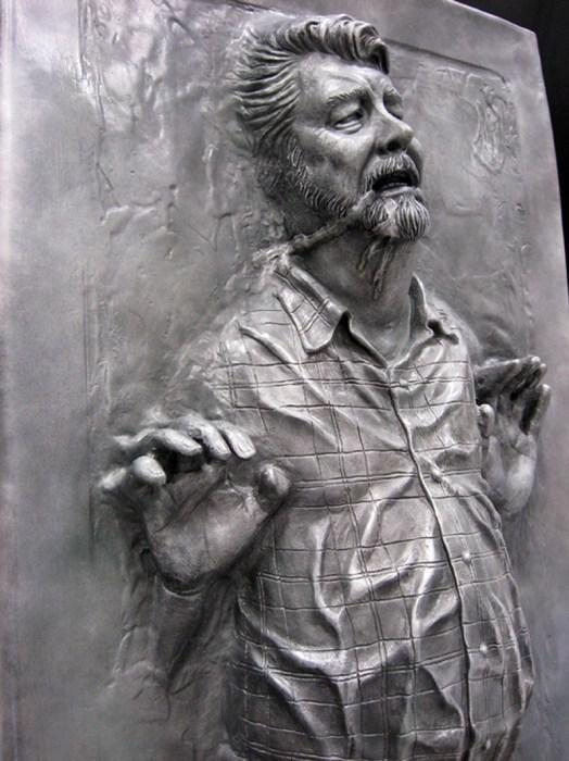george lucus in carbonite