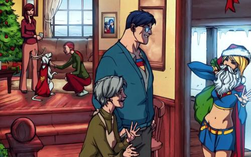 supergirl arrives at the kent ranch