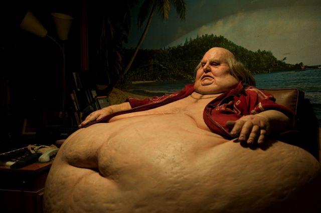 a very fat man