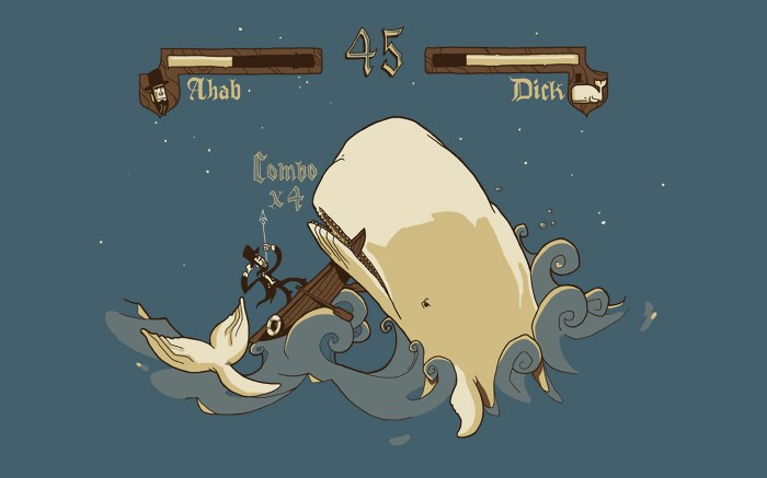ahab vs dick