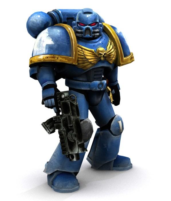 blue space marine