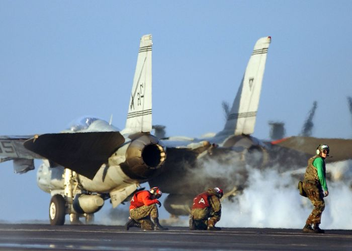 carrier take off