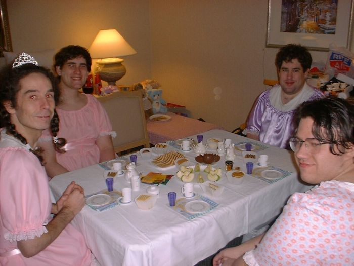 manly tea party