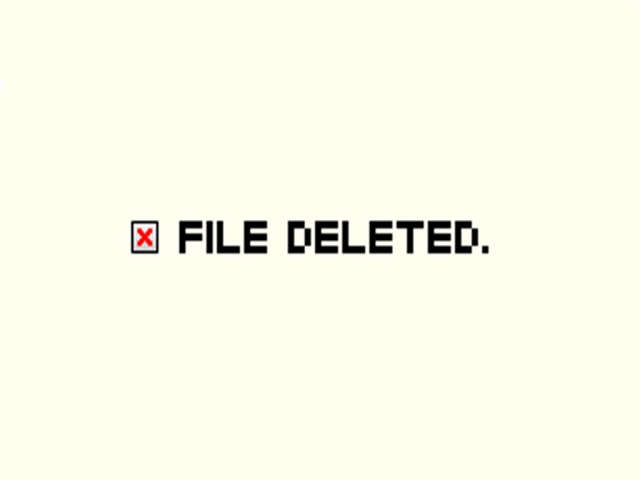 file deleted
