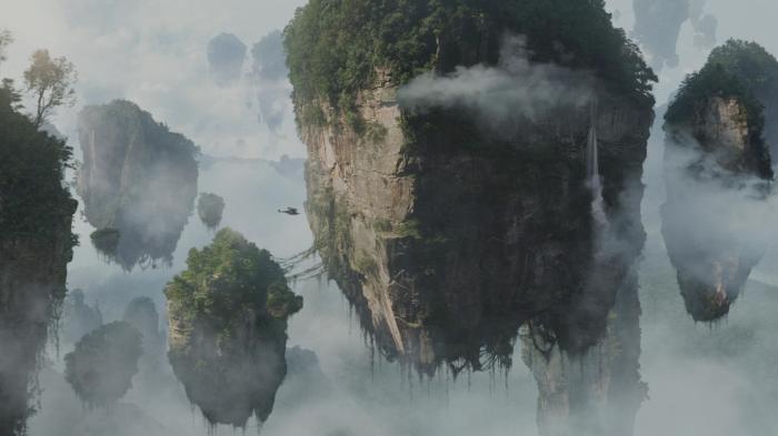 avatar - floating mountains wallpaer
