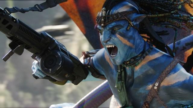 avatar wallpaper - angry na'vi