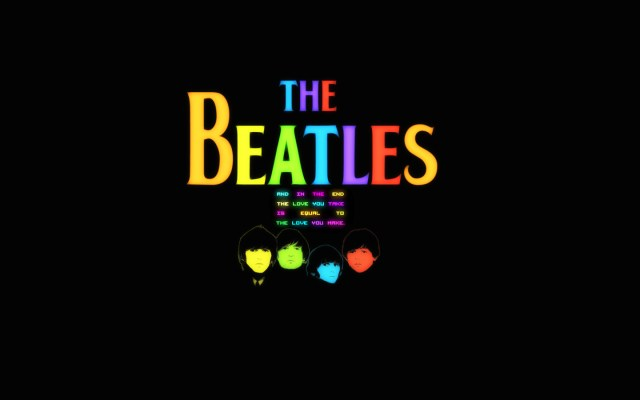 the beatles are colorful