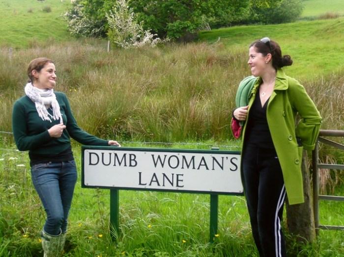 dumb woman's lane