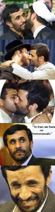 in iran, we have no homosexuals