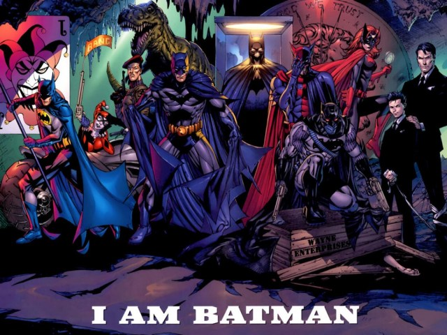 battle for the cowl - I am batman