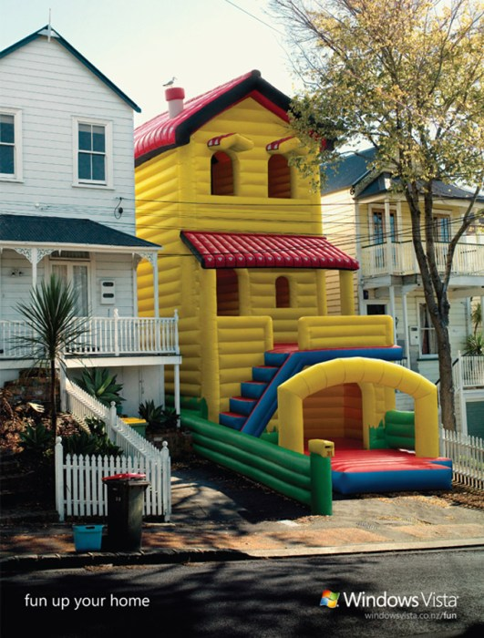 fun up your home - windows vista
